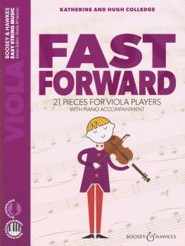 Fast Forward: 21 Pieces for Viola Players Viola and Piano with Online  (HL-48024498)