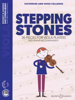 Stepping Stones: 26 Pieces for Viola Players Viola and Piano with Onli (HL-48024499)