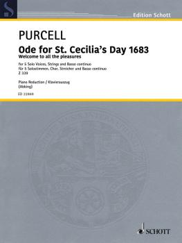 Ode for St. Cecilia's Day 1683: SATB, Soloists, Piano or Organ (HL-49045955)