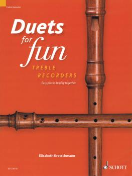 Duets for Fun: Easy pieces to play together 2 Treble Recorders (HL-49046038)