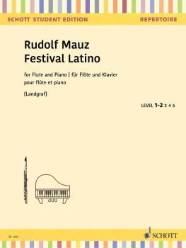 Festival Latino: Samba, Rumba, Mambo Flute and Piano (HL-49046047)