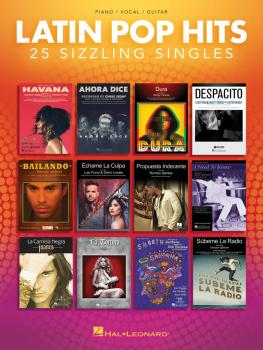Latin Pop Hits (25 Sizzling Singles) (HL-00276076)