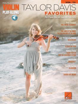 Taylor Davis - Favorites: Violin Play-Along Volume 73 (HL-00256297)