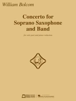 Concerto for Soprano Saxophone and Band: Solo Part and Piano Reduction (HL-00286409)