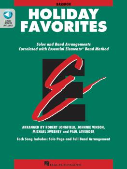 Essential Elements Holiday Favorites: Bassoon Book with Online Audio (HL-00870006)