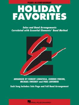 Essential Elements Holiday Favorites: Piano Accompaniment Book with On (HL-00870021)