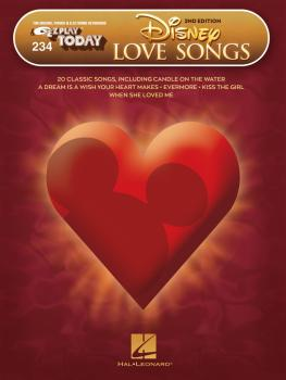 Disney Love Songs - 2nd Edition: E-Z Play Today Volume 234 (HL-00283385)