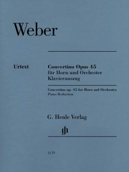 Concertino Op. 45 (for Horn and Piano Reduction) (HL-51481179)