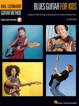 Blues Guitar for Kids - A Beginner's Guide with Step-by-Step Instructi (HL-00248636)