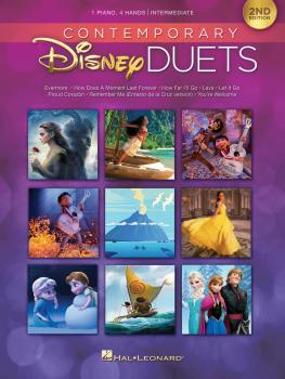 Contemporary Disney Duets - 2nd Edition (HL-00285562)