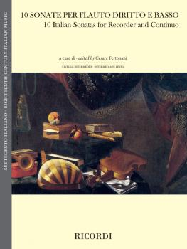10 Italian Sonatas for Recorder and Continuo (HL-50601274)