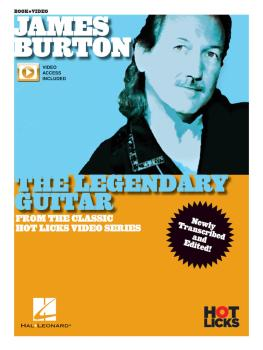 James Burton - The Legendary Guitar (From the Classic Hot Licks Video  (HL-00269774)
