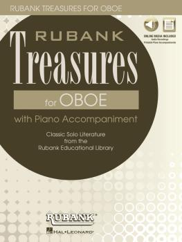 Rubank Treasures for Oboe: Book with Online Audio stream or download (HL-00121402)