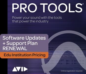 Pro Tools - Legacy Upgrade with 12 Months of Upgrades: Institution Ren (HL-00160107)