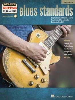 Blues Standards: Deluxe Guitar Play-Along Volume 5 (HL-00245090)