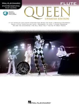 Queen - Updated Edition: Flute Instrumental Play-Along Pack (HL-00285402)