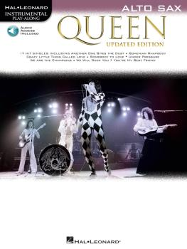 Queen - Updated Edition: Alto Sax Instrumental Play-Along (HL-00285404)