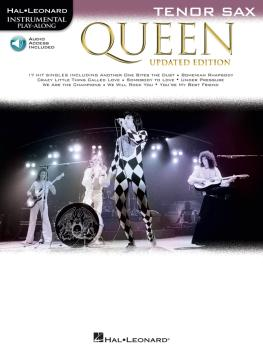 Queen - Updated Edition: Tenor Sax Instrumental Play-Along (HL-00285405)