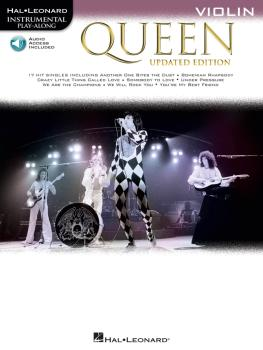 Queen - Updated Edition: Violin Instrumental Play-Along (HL-00285409)