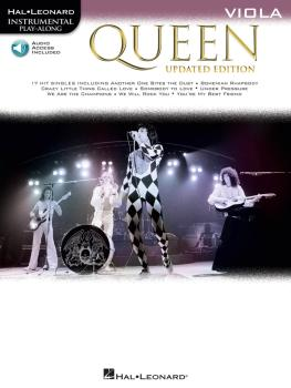 Queen - Updated Edition: Viola Instrumental Play-Along (HL-00285410)