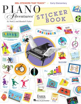 Piano Adventures Sticker Book (HL-00286177)