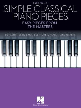 Simple Classical Piano Pieces: Easy Pieces from the Masters (HL-00288045)
