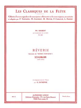 Reverie Op. 15, No. 7 - Classiques No. 60 (for Flute and Piano) (HL-48180291)