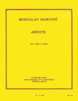 Ariette pour Violon et Piano (HL-48180483)