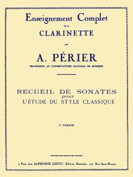 Recueil de Sonates - Volume 3 (for Clarinet) (HL-48180502)