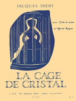 La Cage de Cristal (for Flute and Piano) (HL-48180550)