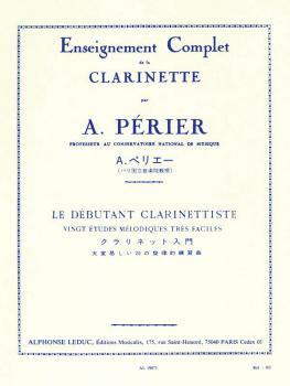 The Clarinettist Beginner: Twenty Very Easy Melodic Studies (HL-48180751)