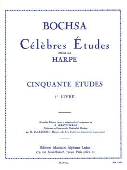 Famous Studies for the Harp - Fifty Studies, Op. 34 Vol. 1 (HL-48181026)