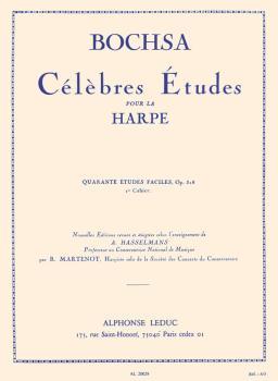 Celebrated Studies for Harp - 40 Easy Studies Vol. 1 (HL-48181030)