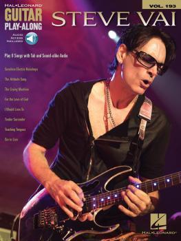 Steve Vai: Guitar Play-Along Volume 193 (HL-00156028)