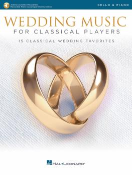 Wedding Music for Classical Players - Cello and Piano (With online aud (HL-00261621)