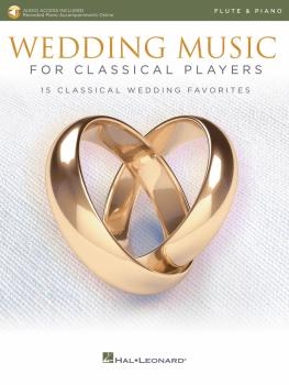 Wedding Music for Classical Players - Flute and Piano (With online aud (HL-00261622)