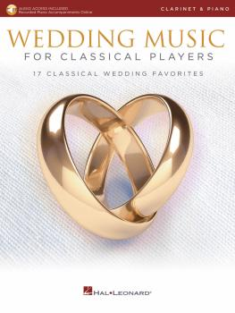 Wedding Music for Classical Players - Clarinet and Piano (With online  (HL-00261623)