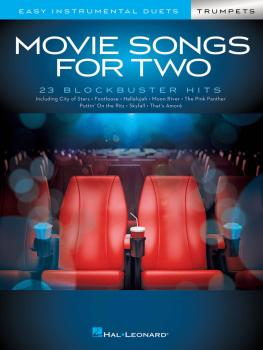Movie Songs for Two Trumpets: Easy Instrumental Duets (HL-00284654)