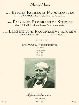 100 Easy and Progressive Studies After Cramer for Flute (Volume 1) (HL-48180567)