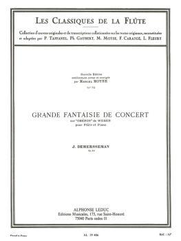 Great Concert Fantasy, Op. 52 - Les Classiques de la Flute No. 76 (for (HL-48180854)