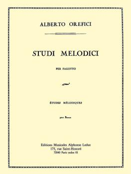 Studi Melodici (for Bassoon) (HL-48181193)