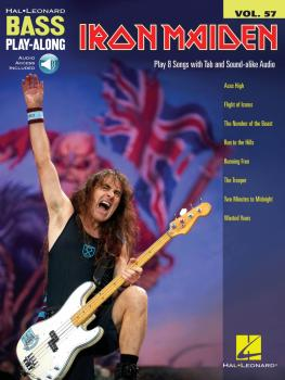 Iron Maiden: Bass Play-Along Volume 57 (HL-00278398)