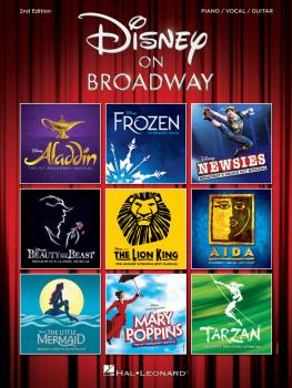 Disney on Broadway - 2nd Edition (HL-00282444)