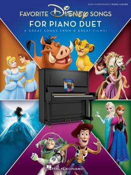 Favorite Disney Songs for Piano Duet: 1 Piano, 4 Hands / Early Interme (HL-00285563)