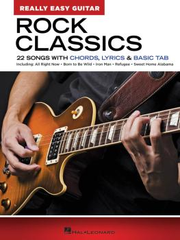 Rock Classics - Really Easy Guitar Series: 22 Songs with Chords, Lyric (HL-00286699)