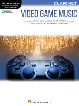 Video Game Music for Clarinet: Instrumental Play-Along® Series (HL-00283878)