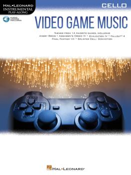 Video Game Music for Cello: Instrumental Play-Along® Series (HL-00283887)