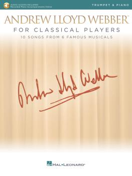 Andrew Lloyd Webber for Classical Players - Trumpet and Piano (With on (HL-00275678)