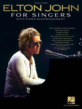 Elton John for Singers (with Piano Accompaniment) (HL-00278114)