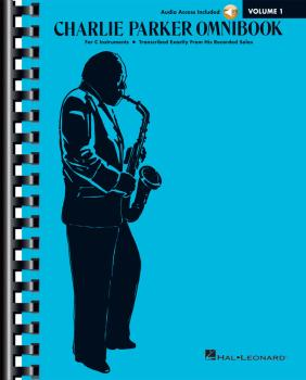 Charlie Parker Omnibook - Volume 1: C Instruments Edition with Online  (HL-00284776)
